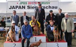 JAPAN Siegerschau 成績表